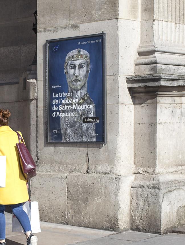Julie Richard Musée du Louvre, affiche