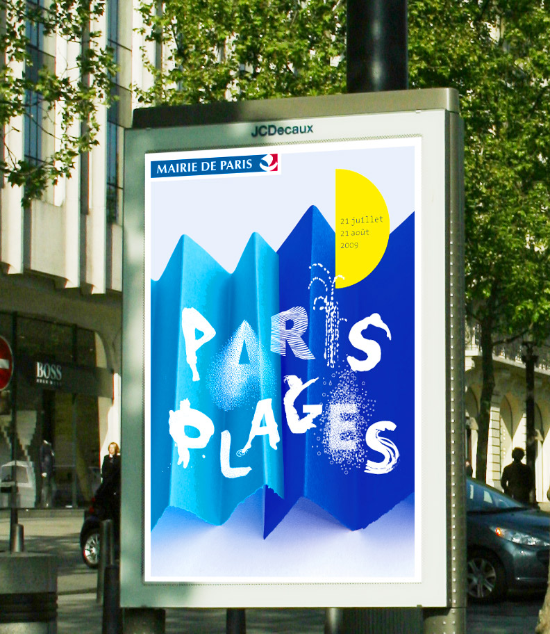 Julie Richard Paris-plage, affiche