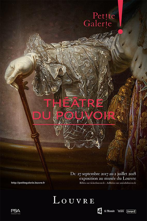 Julie Richard La petite galerie du musée du Louvre, affiche