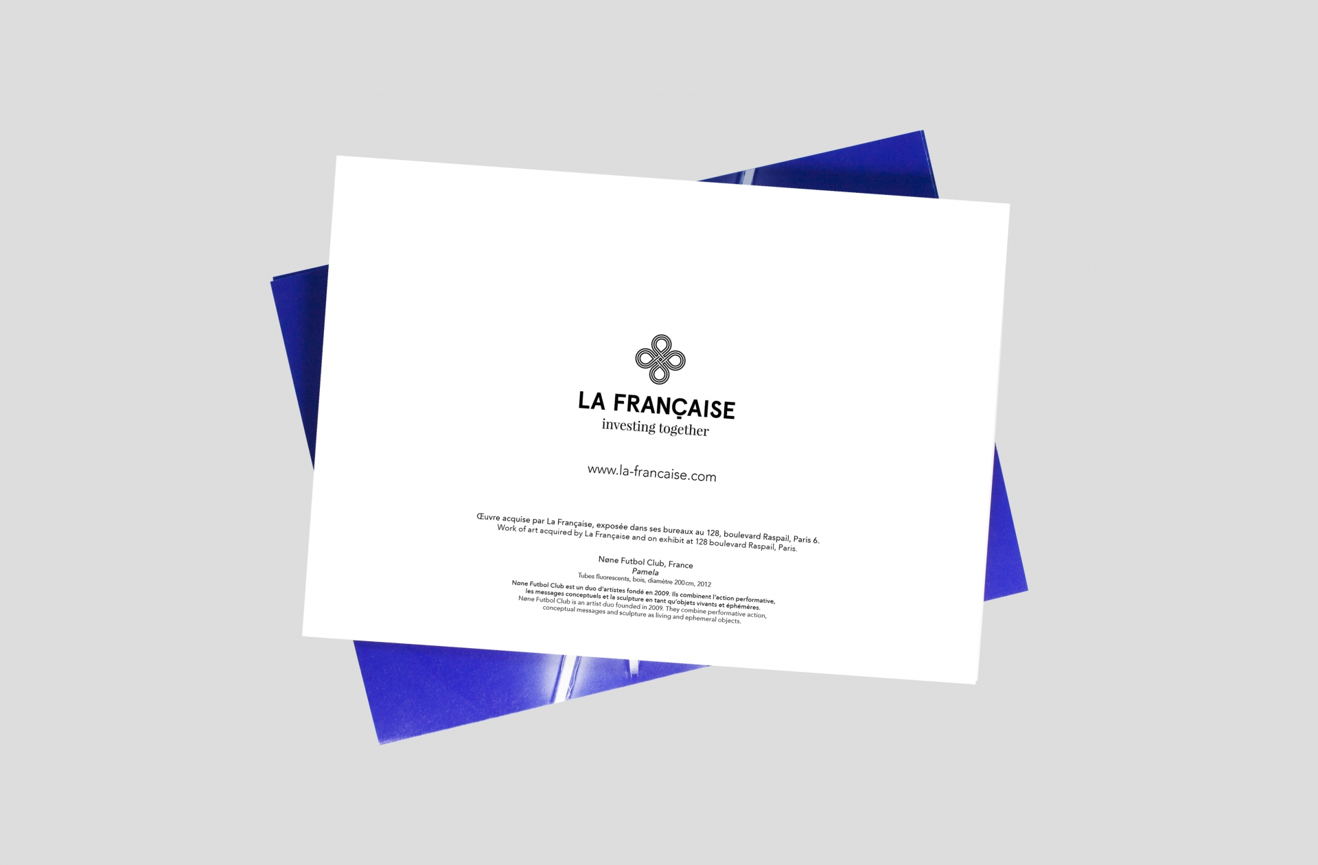 Julie Richard Agence Lemonchik – La Française, vœux